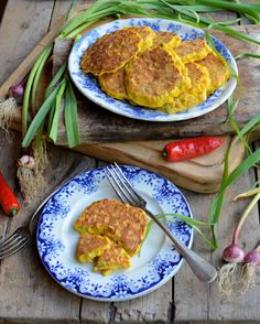 Wild Garlic and Chilli Sweetcorn Fritters (185 Calories) @Karen S Booth