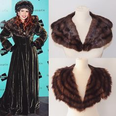 Congratulations to the lovely Paloma Faith on her pregnancy announcement ❤️. We thought we'd share a throwback photo of her in a magnificent fur trimmed outfit. Get her look with our fur collars