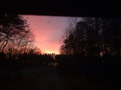 Sunrise in Huntersville
