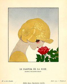 Le Parfum de la Rose Andre Edouard Marty