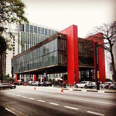 Museu de Arte de São Paulo (MASP) em São Paulo, SP