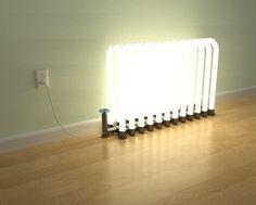 radiant floor lamp by steve faletti