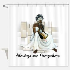 Believe Shower Curtain for
