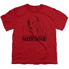 "Checkout our #LicensedGear products FREE SHIPPING + 10% OFF Coupon Code ""Official"" Princess Bride / Morons - Short Sleeve Youth 18 / 1 - Princess Bride / Morons - Short Sleeve Youth 18 / 1 - Price: $29.99. Buy now at https://officiallylicensedgear.com/princess-bride-morons-short-sleeve-youth-18-1"