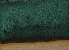 Bronze Green Matt glaze C/6                  Lithium Carb               1%    Strontium Carb           20%    Neph Syenite              60%    Ball Clay                     10%    Silica                           9%    Titanium Dioxide        5%    Copper carb                 5%