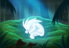 Ori and the Blind Forest fan art by Twitter user KageSatsuki