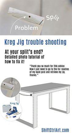 Kreg Jig: At your split's end? troubleshooting ideas to avoid wood splitting