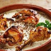 Кролик, тушеный в сметанном соусе рецепт – основные блюда. «Афиша-Еда»