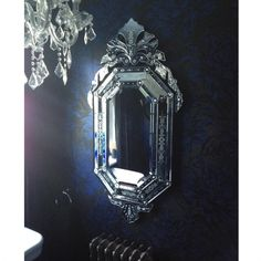 Venetian Orchid Mirror by The French Bedroom Company