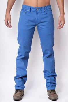 VOLCANO Blue (front) Chino pants