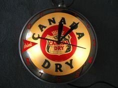 Canada Dry Vintage Clocks