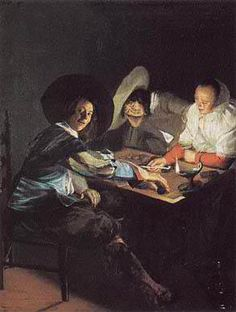 A Game of Tric Trac  Judith Leyster, 1630