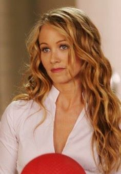 Christine Taylor in the movie Dodgeball, Love the waves!