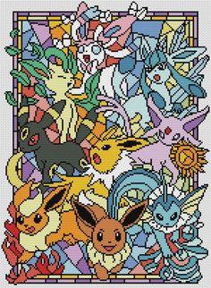 Pokemon go cross stitch pattern pdf Stained glass cross stitch pattern pdf BUY 2 GET 1 FREE modern cross stitch pattern - - Pokemon Cross Stitch, Cross Stitch Art, Cross Stitching, Cross Stitch Embroidery, Disney Cross Stitch Patterns, Modern Cross Stitch Patterns, Cross Stitch Designs, Guzma Pokemon, Easy Pokemon