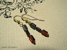 Classy Glass Earrings by Lorel Lee