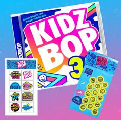 8789dd16 Bundle Includes CD + Tattoos + Sticker Set. KIDZ BOP is the #1 children's