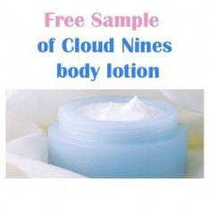 #FreeSample of Cloud Nines body lotion ^_^ http://www.pintalabios.info/en/discount-coupons/view/en/4 #Cosmetic #Discounts