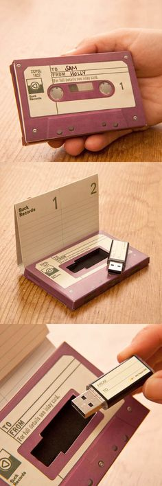 Usb Tape and other Creative and Fun Package Designs from Fine Print NYC