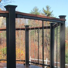 The new Fortress Vertical Cable Railing Panel System! #cablerailing ...