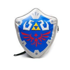 Nintendo Zelda Shield 3D Novelty Backpack -- Unbelievable product right here! : Backpacking bags