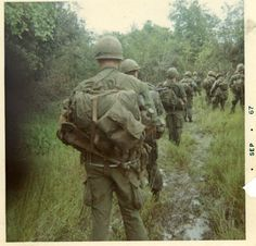 My father was a Vietnam Grunt, he fought on the front line for the entire year of 1967. The life expectancy of a grunt was 16 minutes. He and one other man are the only two survivors of his platoon. Happy Veteran's Day, Dad.
