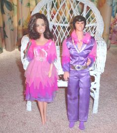 Donny and Marie Osmond dolls from the 70's