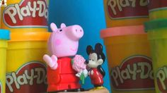 Peppa Pig✲ George y sus amigos juegan a la peonza ✲ Juegan con los animales