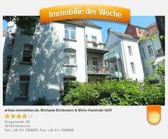 Modernisierte Altbauwohnung in bester Lage von #Hannover #Oststadt - aufgenommen und gepinnt vom Immobilienmakler in Hannover: arthax-immobilien.de