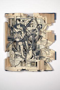 The R.O.T.C. Manual, 2010   Altered Book - Brian Dettmer