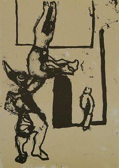 El Papanatas. 2007. Litografía, 42 x 30 cm. mancha, 68 x 47,5 cm. soporte. 330 €.