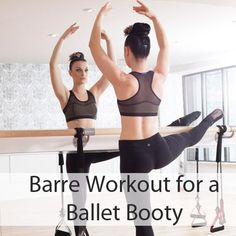 Beginner barre workout for toning your bum