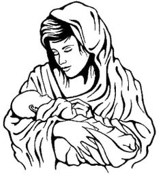 related pictures baby jesus virgin mary and baby jesus coloring page car pictures - Mary Baby Jesus Coloring Page