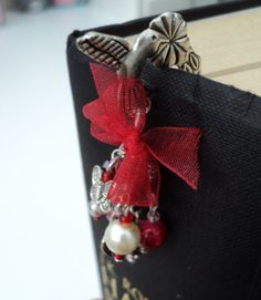 Large Red Humming Bird Charm Bookmark by CharmsAndNails on Etsy, £7.90
