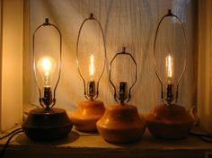 Picture of How to Wire a Turned Wooden Lamp