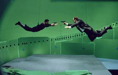 The Matrix - 30 Awesome Behind The Scenes Shots From Famous Movies | Bored Panda