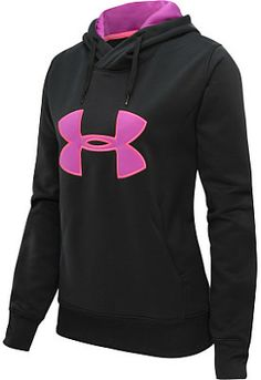 When it gets a bit chilly, this Under Armour women's Big Logo Twist hoodie will quickly become her new gym-going fave! #GiftOfSport