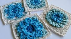 sample of Flowers Abound patterns by Shelley Husband 2015 - Flowers Abound : 20 Floral #Crochet Patterns ebook | @spincushions