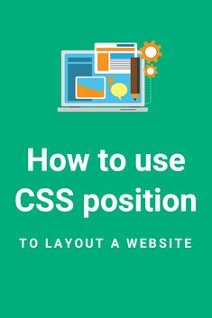 Step-by-step explanation on how to use the CSS position property values (relative, absolute, fixed, sticky) to layout your website | #webdevelopment #frontend #css #html #webdesignprograms