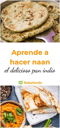 Pan Indio, Deli Food, Vegetarian Recipes, Healthy Recipes, Pan Bread, Pain, My Recipes, Food And Drink, Yummy Food