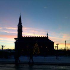 Cph winter sky