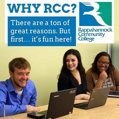 Why RCC? There are a ton of great reasons. But first its fun here! http://ift.tt/2cOq3sf #rccfall #rappahannock #community #college #comm_college #rccfall