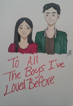 To all the boys I've loved before Lara Jean, Drawing Quotes, Drawing Ideas, Jenny Han Books, Adorable Couples, Book Stuff, Love Letters, Love Book, Book Series
