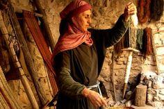 Nazareth Village--spinning