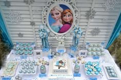 Frozen Birthday Party Idea's.  Great Idea for Kids that love the movie Frozen!