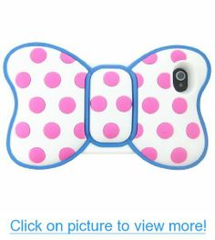 Lovely 3d Butterfly Bowknot Pink Dot Back Soft Silicone Blue Frame Case Cover for Iphone 4 4g 4s