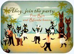 meow like a pirate day-black cat dance @catchatcaren @catwisdom101