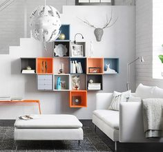 Eket Collection (IKEA)- flexible and colorful storage solutions