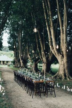 Beautiful outdoor tablescape