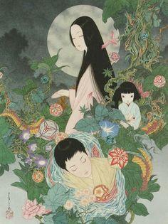 Кристаллический? sthetic: Takato Ямамото Иллюстрации из лабиринте травы ...