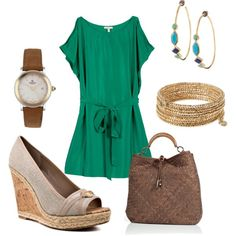 Love, minus the watch! Best part is that I already have the Stella & Dot earrings and bracelet. :)